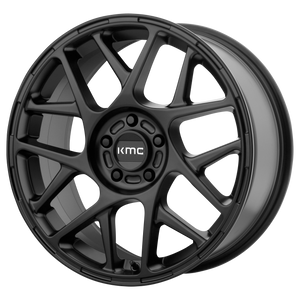 BULLY 17x8 5x120.00 SATIN BLACK (38mm)