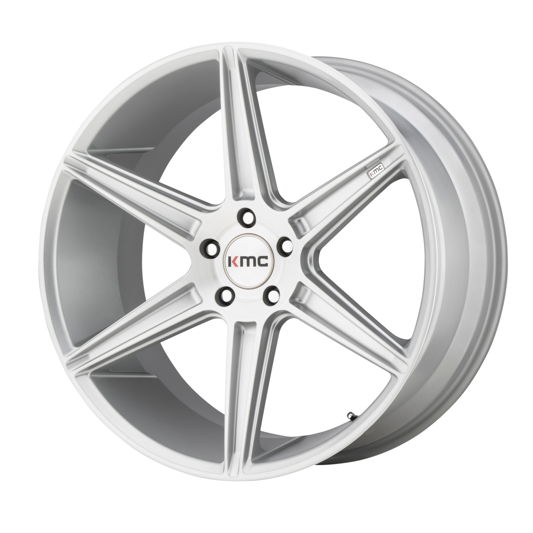 PRISM 22x9 5x114.30 BRUSHED SILVER (35mm)