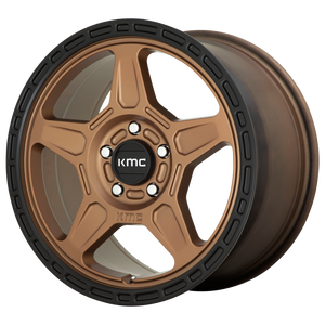 ALPINE 18x8 5x108.00 MATTE BRONZE W/ BLACK LIP (38mm)