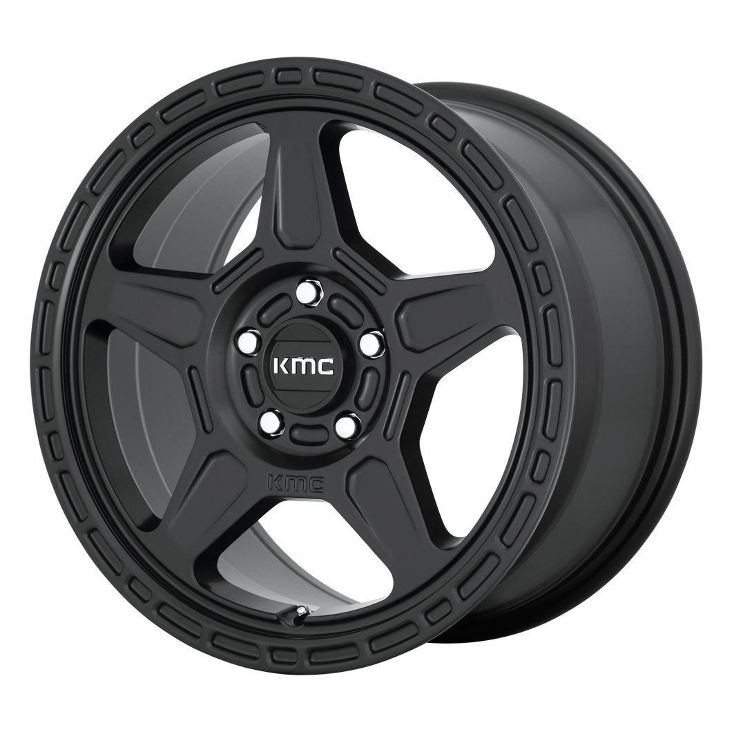 ALPINE 16x7.5 5x114.30 SATIN BLACK (30mm)