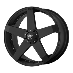 ROCKSTAR CAR 18x8 5x112.00/5x114.30 MATTE BLACK (42mm)