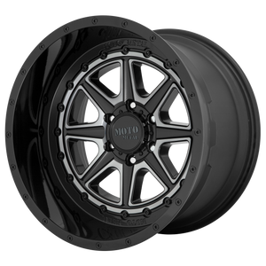 PHANTOM 22x12 6x139.70 GLOSS BLACK W/ GRAY TINT (-44mm)