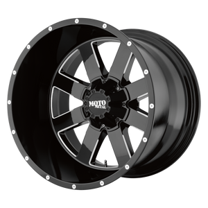 MO962 22x10 8x170.00 GLOSS BLACK MILLED (-18mm)