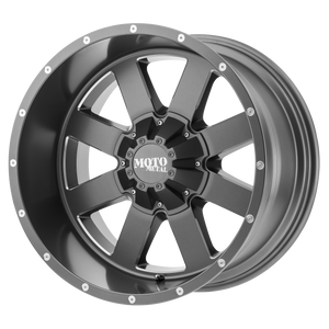 MO962 22x10 6x135.00/6x139.70 SATIN GRAY MILLED (-18mm)