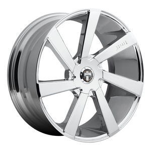 DIRECTA 22x9.5 Blank CHROME PLATED (30mm)