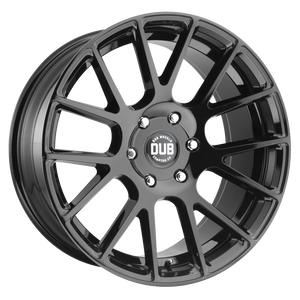 LUXE 20x9 6x135.00 GLOSS BLACK (30mm)