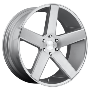 BALLER 22x9.5 6x135.00 GLOSS SILVER BRUSHED (30mm)