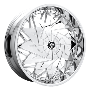 DAZR 26x9 5x120.65/5x127.00 CHROME PLATED (1mm)