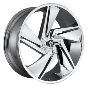 FADE 22x9.5 6x135.00/6x139.70 CHROME PLATED (30mm)