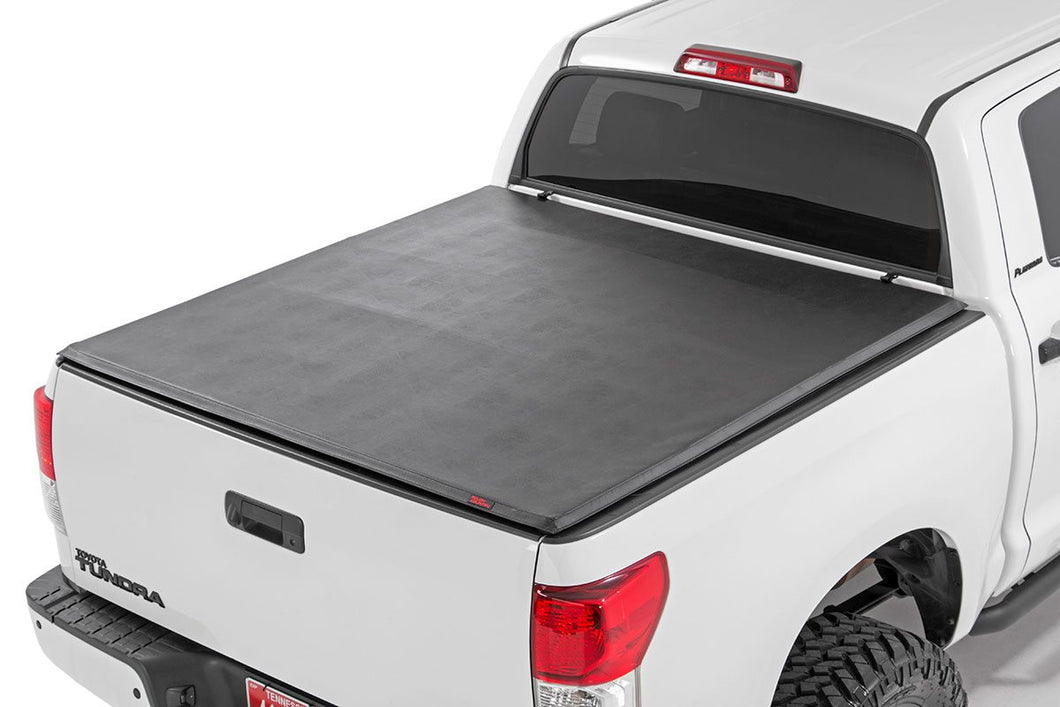 Toyota Soft Tri-Fold Bed Cover (07-13 Tundra - 6' 5