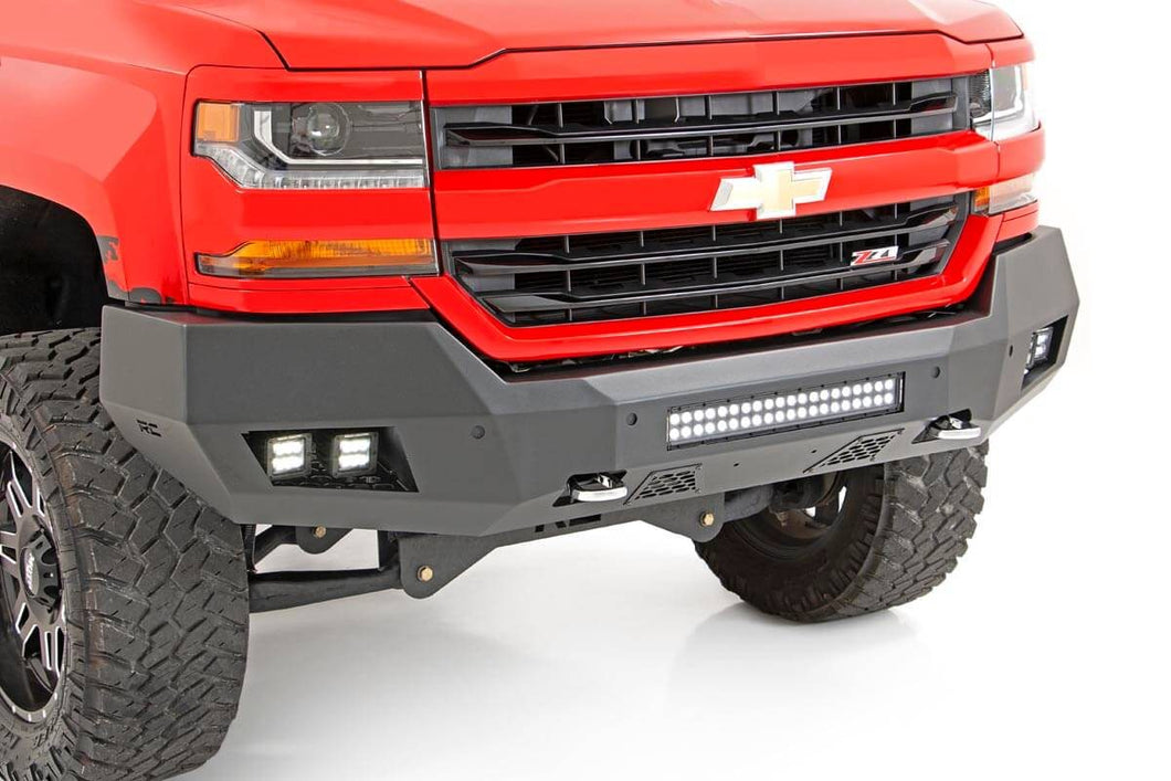 Chevy Heavy-Duty Front LED Bumper (16-18 1500)