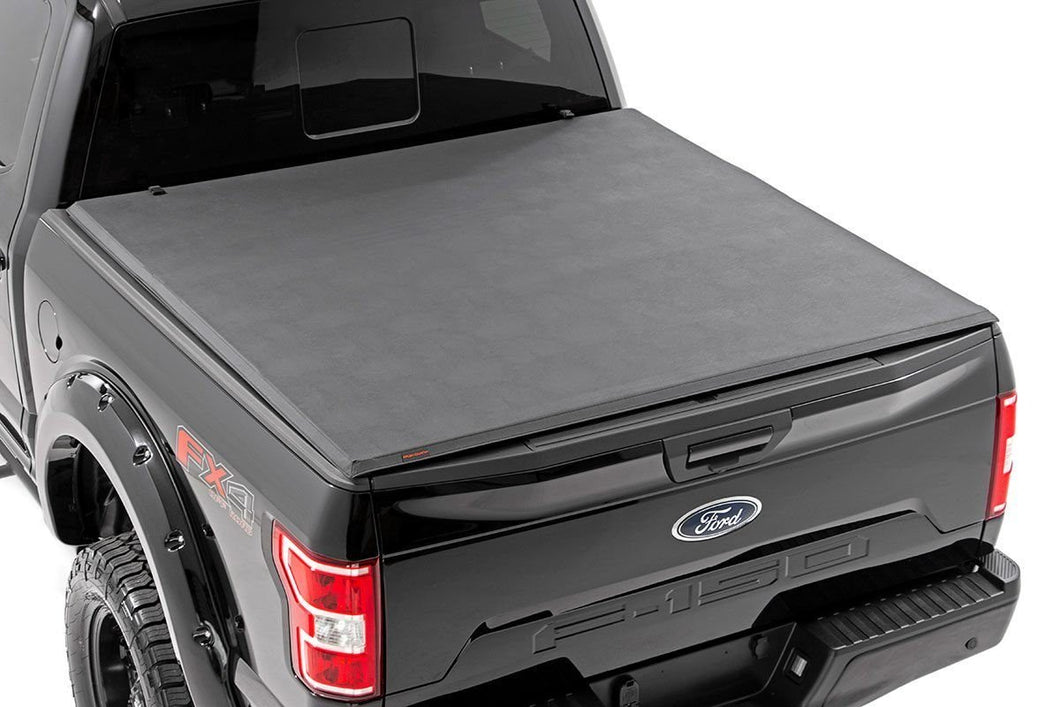Ford Soft Tri-Fold Bed Cover (01-03 F-150 - 5' 5