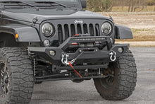 Load image into Gallery viewer, Jeep Full Width Front LED Winch Bumper (JK JL Gladiator JT)