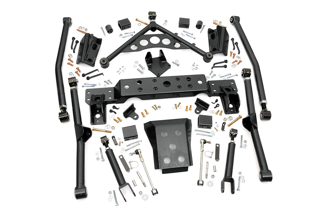 Rough Country X-Flex Long Arm Upgrade Kit for 4-inch Lifts
