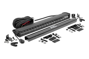 Rough Country 20-inch Black Series Single Row CREE LED Light Bar