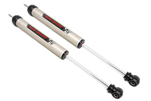 Ford F-350 Super Duty (05-20) V2 Front Monotube Shocks (Pair) 7.5-8in