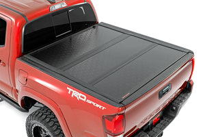 Toyota Low Profile Hard Tri-Fold Tonneau Cover (16-20 Tacoma)