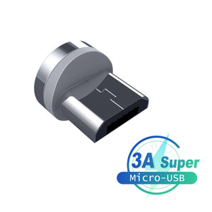 5A - QUICK Charge 360° magnetisches Datenkabel - GALAXY of HOME