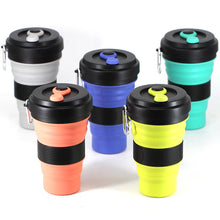 "Laden Sie das Bild in den Galerie-Viewer, Faltbare 550ml Kaffeetasse ""TO-GO"" - GALAXY of HOME"