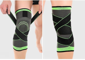 Stabilisierende atmungsaktive Knie-Bandage - GALAXY of HOME