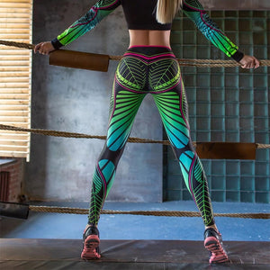 High-Waist Leggings 'Leguana' - GALAXY of HOME