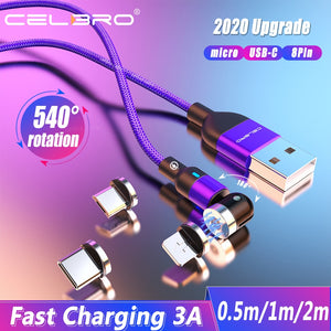 540° drehbares - Datenkabel + 3A Fast Charging - GALAXY of HOME