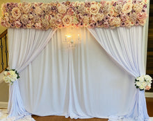 "Load image into Gallery viewer, ""Princely"" Floral Backdrop"