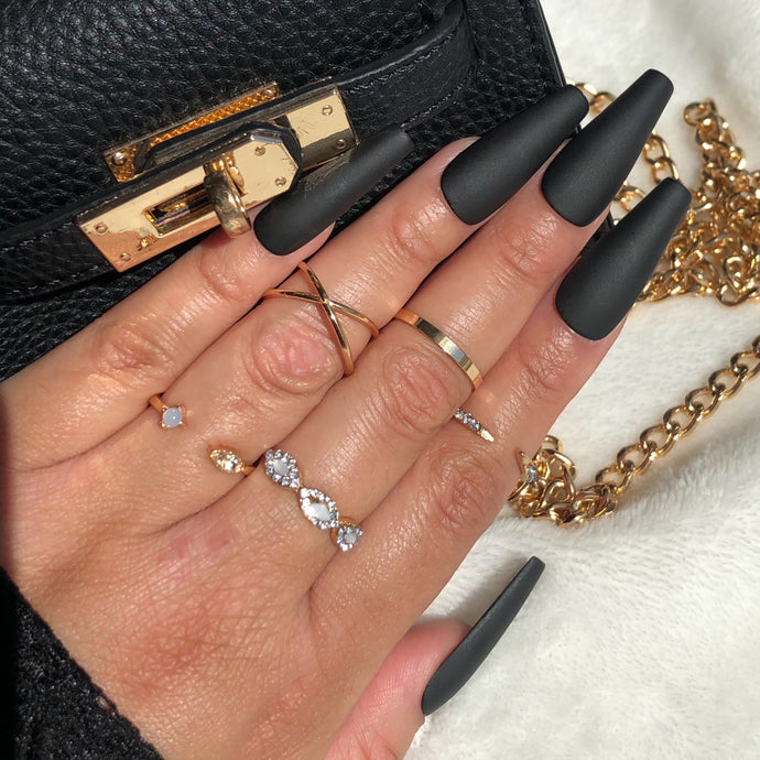 Knuckle Ring Set 5pc/Style 2