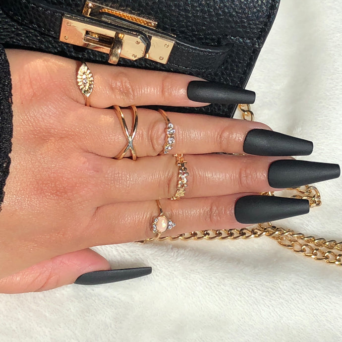 Knuckle Ring Set 5pc/Style 3