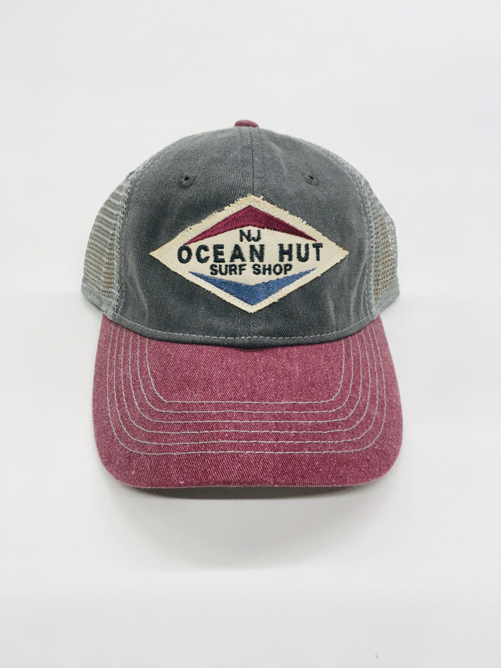 Ocean Hut Slick Valve Trucker Hat