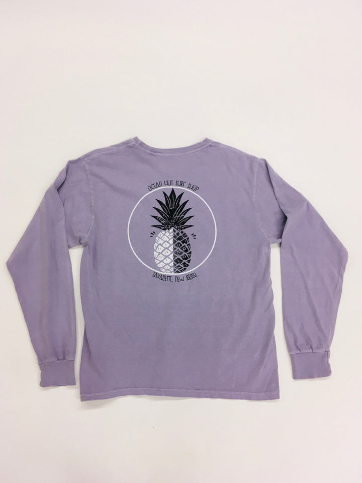 Endless Pineapple Long Sleeve Tee