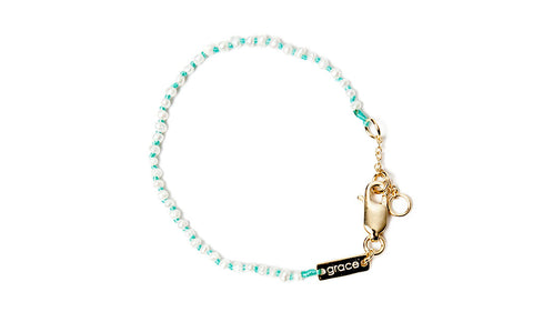Baby Pearl Bracelet - Turquoise