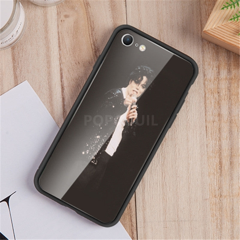 Custom Personalized Glass Phone Case For IPhone 6 6SP 7 8 Plus X 11 Pro XS MAX XR Cover Customized Design Picture Name Photo