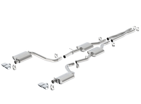 Borla 140628 Challenger R/T 2015-2019 Cat-Back Exhaust ATAK®