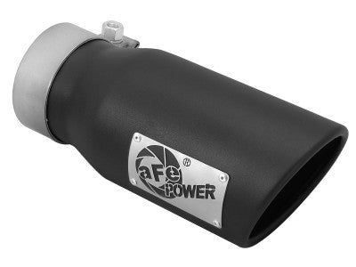 "Afe Power 49T30401-B09 MACH Force-Xp 3"" Black 409 Stainless Steel Exhaust Tip"
