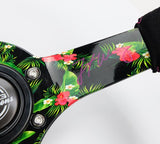 NRG Innovations RST-036TROP-FW Forest Wang Sig Steering Wheel - Alcantara - Tropical Design