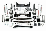 "McGAUGHYS 7""-10"" Premium Black Stainless Steel Lift Kit for 2019+ GM Truck 1500 (4WD) #50793"