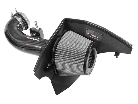 AFE Power 57-10005D Track Series Carbon Fiber Cold Air Intake w/Pro DRY S Filter - Chevrolet Camaro SS 16-20 V8-6.2L