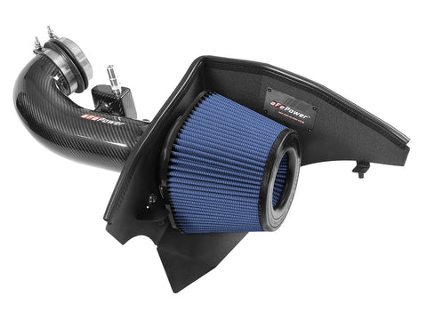 AFE Power 57-10005R Track Series Carbon Fiber Cold Air Intake w/Pro 5R Filter - Chevrolet Camaro SS 16-20 V8-6.2L