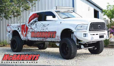 "MCGAUGHYS 8"" Premium Lift Kit for 2014-2018 Dodge Ram 2500 (4WD) Part #54320"