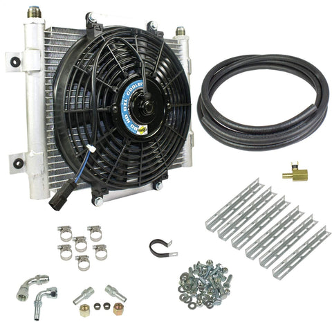 BD DIESEL Xtrude Transmission Cooler with Fan - Complete Kit