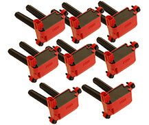 MSD # 82558 Igntiion Coils 2005-2019 Hemi 5.7L/6.1L engines, Red, 8-Pack