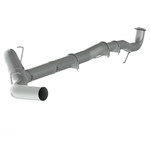 "P1 Race Exhaust C6049PLM 5"" Down Pipe Back, DPF Delete, without bungs, without muffler, 2015.5-2016 Chevy/GMC 2500/3500 HD"