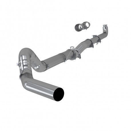 "MBRP S60200PLM - 5"" Single Side, AL -no muffler for 2001-2007 Chevy/GMC 2500/3500 DURAMAX"