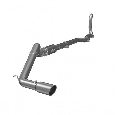 "1988-1993 Dodge 2500/3500 Cummins 4WD 4"" Turbo Back, Single Side Exit Exhaust (All excl. EC/LB) MBRP S6150AL"