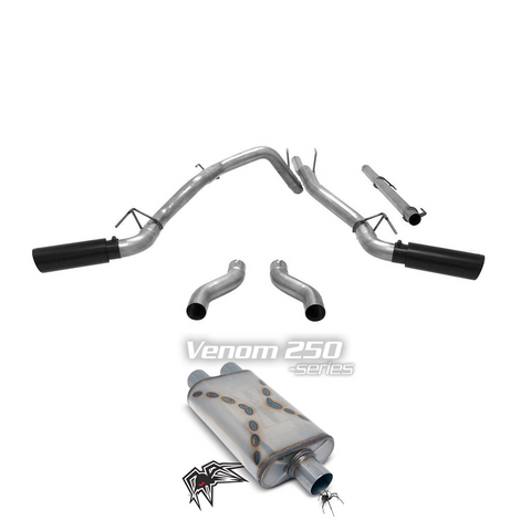 Black Widow exhaust Kit for 2009 - 2019 (2019 Classic) Ram 1500