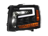 AlphaOwls #7180109 2007-2014 Chevy Silverado TRI-PRO LED Projector Headlights