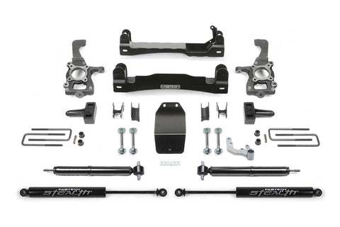 Fabtech K2193M 4″ Basic System w/Rear Stealth Shocks - 2015-2020 FORD F150 4WD