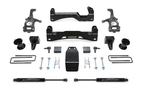 Fabtech #K2194M 6″ Basic System w/ Stealth Shocks – 2015-2020 FORD F150