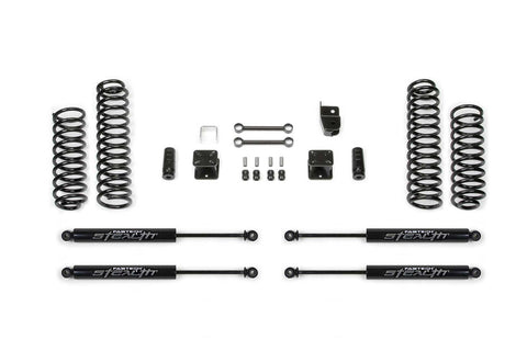 Fabtech 2007-18 Jeep JK 4WD [4-DOOR] 3″ Sport System w/ Stealth Shocks – #K4048M